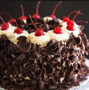 Basic Pastries Cakes and Desserts Hotel - Black Forest Cake