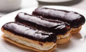 Basic Pastries Cakes and Desserts Hotel - Chocolate Eclairs