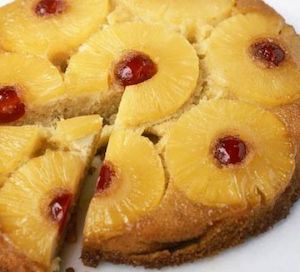 Basic Pastries Cakes and Desserts Hotel - Pineapple upside-down cake