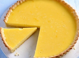 Creams and Pastes Used By Bakers & Pastry Chefs - Lemon Tart