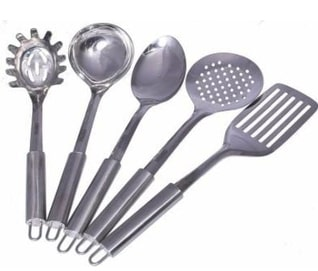 Kitchen Hand Tools & Small Equipment - Spoons - Slotted