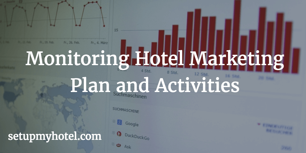 How to monitor Hotel Marketing Plan and Activities, Hotel ROI, Tracking hotels marketing Return of Investment, Marketing Performance, Keeping track of sales team productivity.