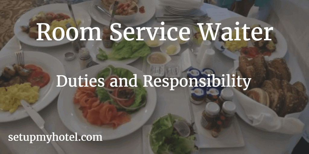 Room Service Waiter Waitress In Room Dining Ird