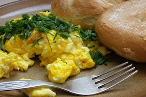 Scrambled Egg Preparation for hotel - Type of Egg Preparations at hotel