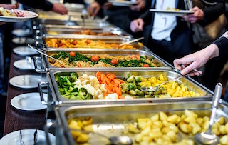 Buffet Service | Types of Service | Types of F&B Service
