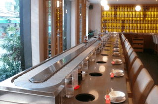 Automatic Service or Conveyer Belt food Service | Types of F&B Service | Types of F&B Service