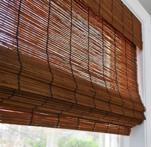 Types of Hotel Window Curtains Treatments - Bamboo shades