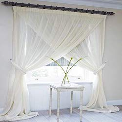 Types of Hotel Window Curtains Treatments - Criss Cross Curtains