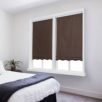 Types of Hotel Window Curtains Treatments - Fabric roller-shades