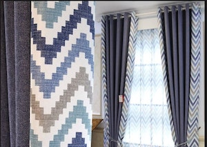 Types of Hotel Window Curtains Treatments - Fold Back Curtains