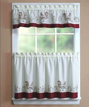 Types of Hotel Window Curtains Treatments - French Cafe Curtains