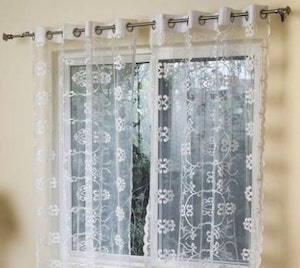 Types of Hotel Window Curtains Treatments - Glass Curtains