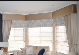 Types of Hotel Window Curtains Treatments - Pelemets