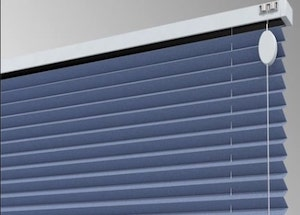 Types of Hotel Window Curtains Treatments - Pleated Blinds