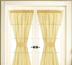 Types of Hotel Window Curtains Treatments - Sash Curtains