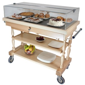 Types of Trolley - Dessert Trolley