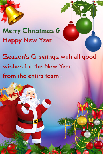 christmas and new year wishes 2