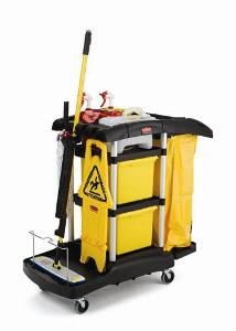 Types of Cleaning Carts used in housekeeping | Housekeeping Cleaning carts