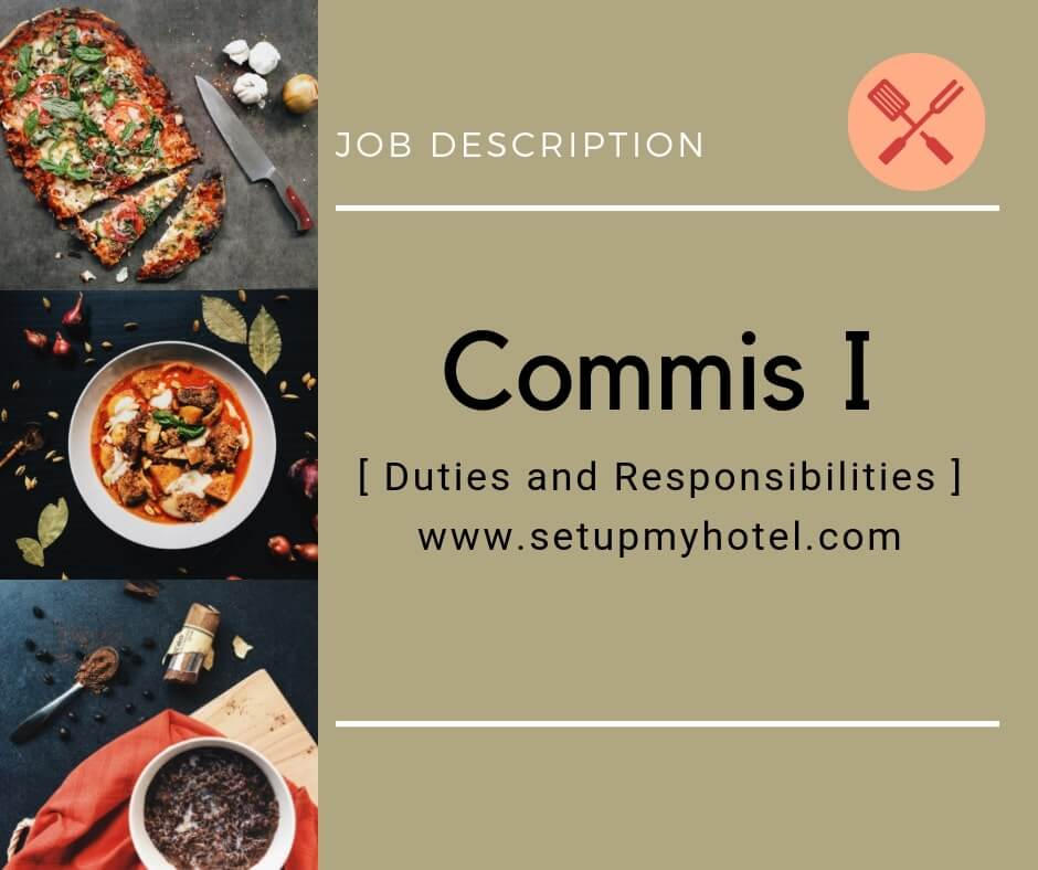 Who is a Commis I Chef? Here's The Job Description