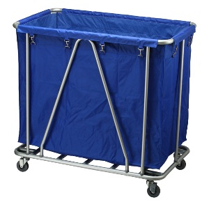 Linen Trolly used in hotel housekeeping